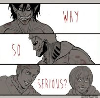 Why so serious? by Hehenyek