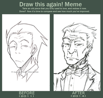 Meme: Draw this again! Elound by KarasuTenguProyectos