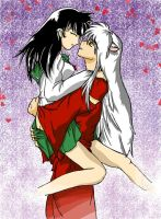 Kagome+Inuyasha is Love by misplacer