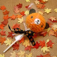 Amigurumi Halloween Lollipop by amigurumikingdom