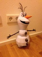 Olaf Papercraft by giden445