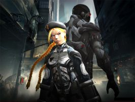 Cammy crysis new york II by lkhrizl