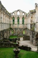 Rievaulx Abbey 27 - Stock by GothicBohemianStock