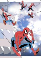 Here Comes Spider-Man by Kapalsky