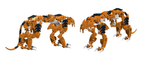 lego tigar instructions by drago-flame
