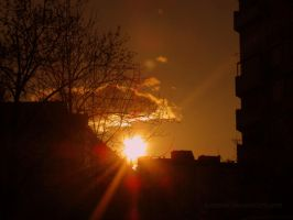 Urban Sunset by Aivaseda