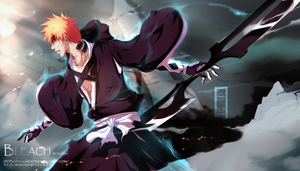 Bleach - Resolve by i-azu