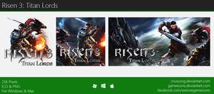 Risen 3: Titan Lords - Icon by Crussong