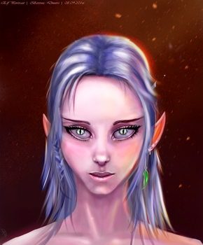 Elf-Portrait by LoveCa3ne