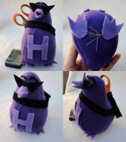Etsy: Avengers Hawkeye Sewing Caddy/Plush Doll by VineyardElf