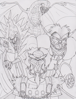 AAC: Evil, Rankin Bass Style by Gojira007