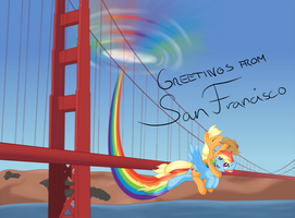 Greetings From San Francisco by RatofDrawn