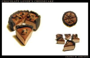 Chocolate Lover's Cheesecake by Abraxnis