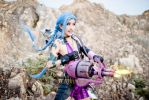 League of Legends: Jinx Fires Pow Pow by SilentCircus90