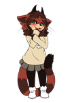 Woolly Red Panda by Yufika