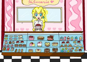 peach's patisserie by ninpeachlover