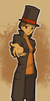 Female Layton by aliceazzo