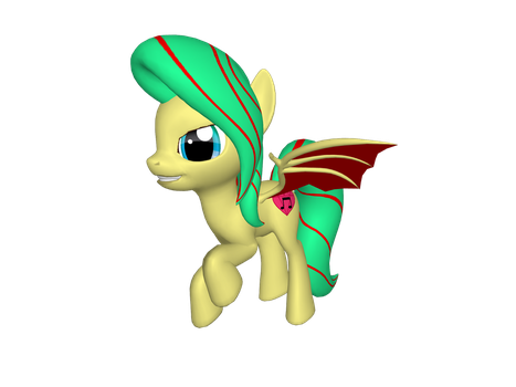 3d pony Adoptable by Fionnin4ever
