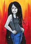 Marceline ACEO Card by starlinehodge
