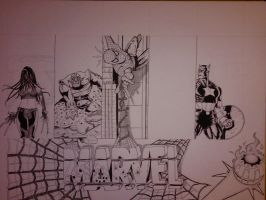 Marvel Project Update 7 WIP by DamCee