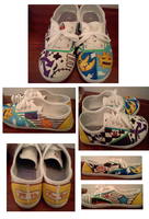 Soul Eater Shoes by xxsushirollxx