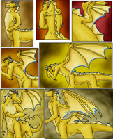 Dragoniade Commission 5 by IchikoWindGryphon