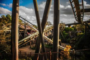 Nemesis - Alton Towers by djd711Media