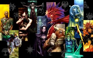 Ravnica 10 guilds wallpaper by erias9