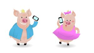 Message Hogs by THEantastic
