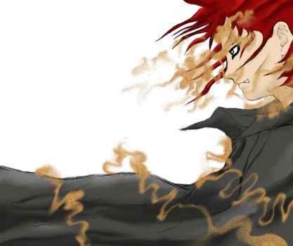 gaara by NeO2on