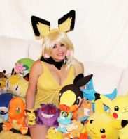 Pichu 02 by HeatherCosplay