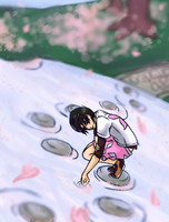 Stepping Stones by aqua-relle