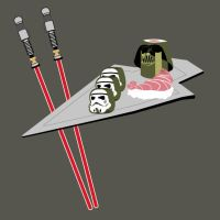 Smaller Star Wars Sushi by TinyCueCard