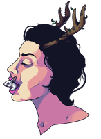 girls and their curls and their gourmet vomit, by bunlimia