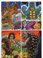 2012 Kaiju Kards Set 1 by fbwash