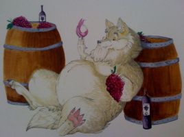 Bacchus' Joy by diamondwhitewolf