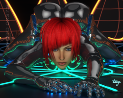 Gynoid 0x37::2 by TweezeTyne