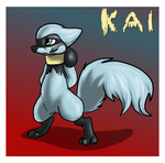 The Red Barn: Kai the Riolu Ref by Cattensu