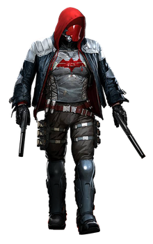 Arkham Knight - Red Hood Render by Spider-Man91