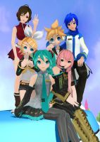 Vocaloid Family (Complete!) by Sithlord43