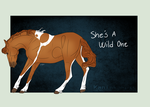 A1280 She's A Wild One by Kaninkompis