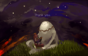 Adventure time_Thank you. by Fengta