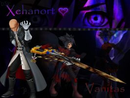 kingdom hearts xehanort and vanitas by LumenArtist