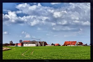 Rural landscape by deaconfrost78