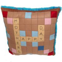 Plush Scrabble Board Pillow by pinktoque