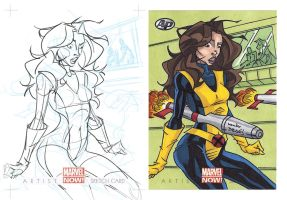 Marvel NOW! AP Shadowcat by dino-damage