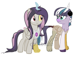 Alternate Universe: Dusky and Paradonta by iPandacakes
