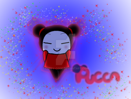 A new Pucca Drawing by capcappucca222