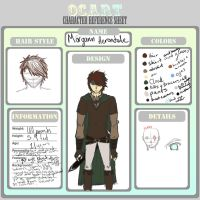 OC Developement - Morgann Herondale by Holy-Paladin-Dareyn