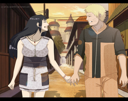 Naruhina Love one Date by Sarah927